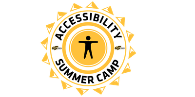 accessibility summer camp logo