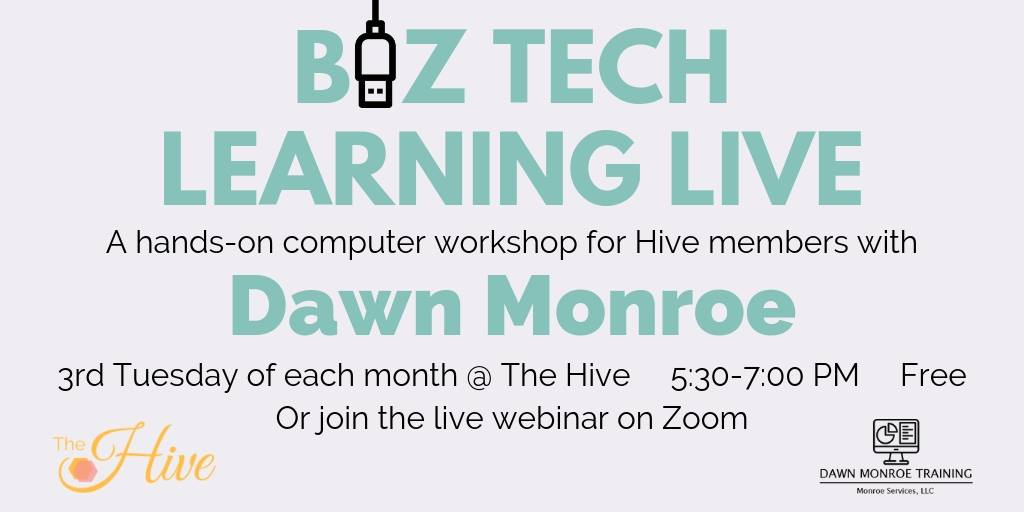 Biz Tech Learning Live graphic