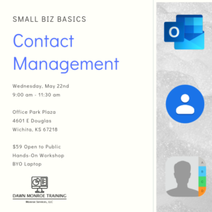 Contact Management: Small Biz Basics @ Office Park Plaza
