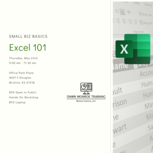 Excel Spreadsheets 101: Small Biz Basics @ Office Park Plaza
