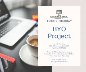 Techie Tuesdays: BYO Project JULY @ The Hive